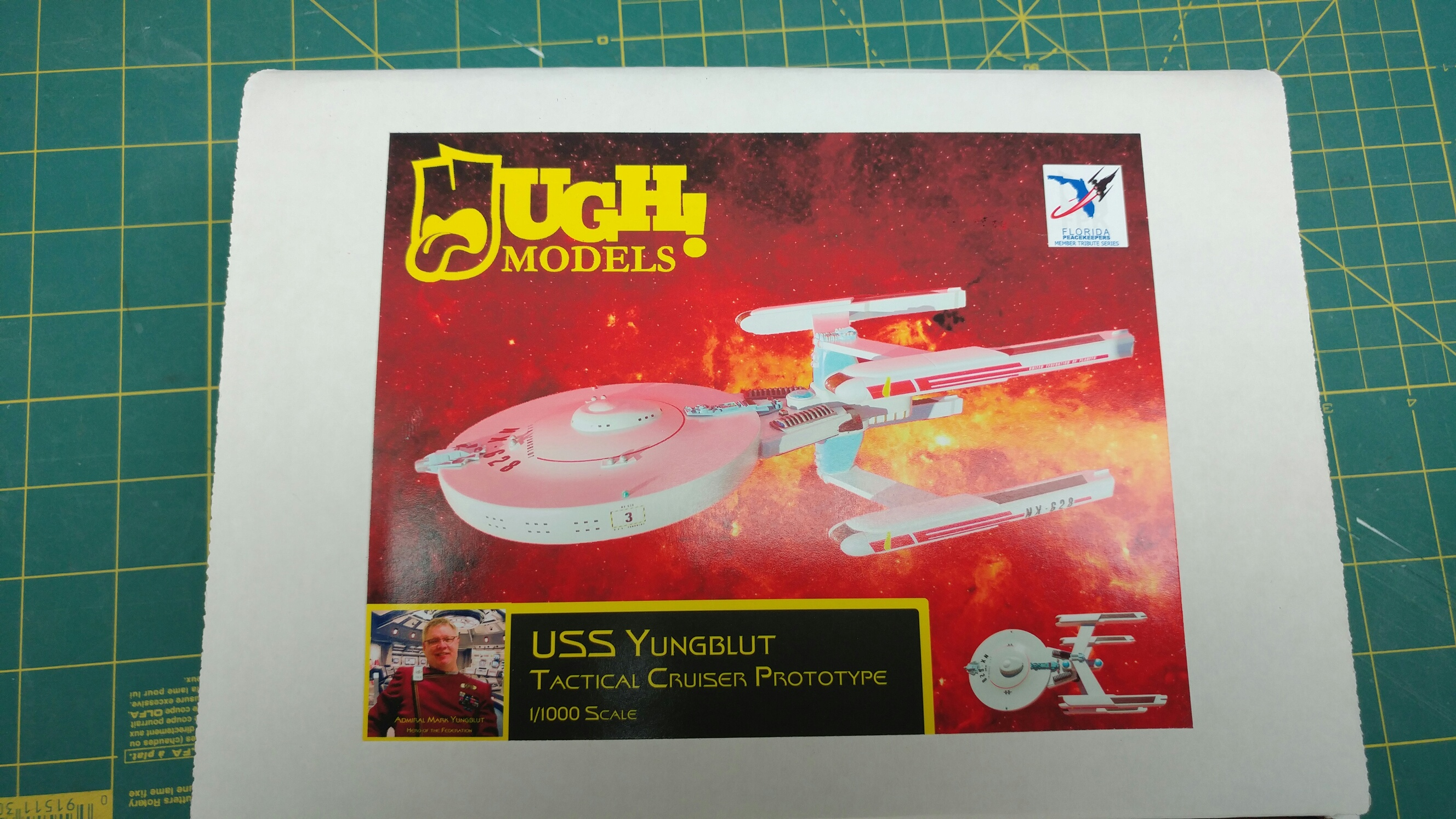 1/1000  USS Yungblut Tactical Cruiser Prototype