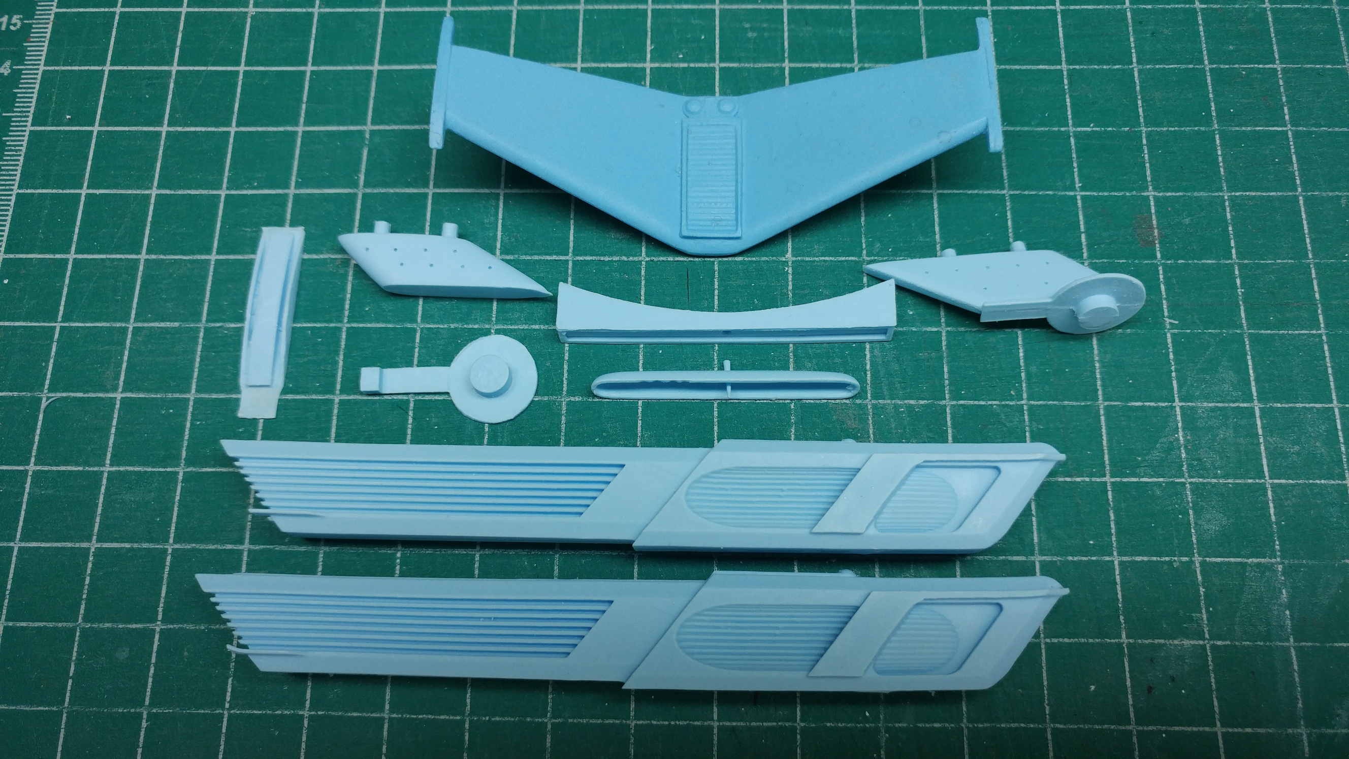 Saucer Mounted Nacelle Conversion Kit Basilisk Version