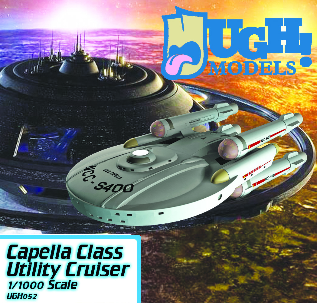 1/1000 Capella Class Utility Cruiser (Basic kit)