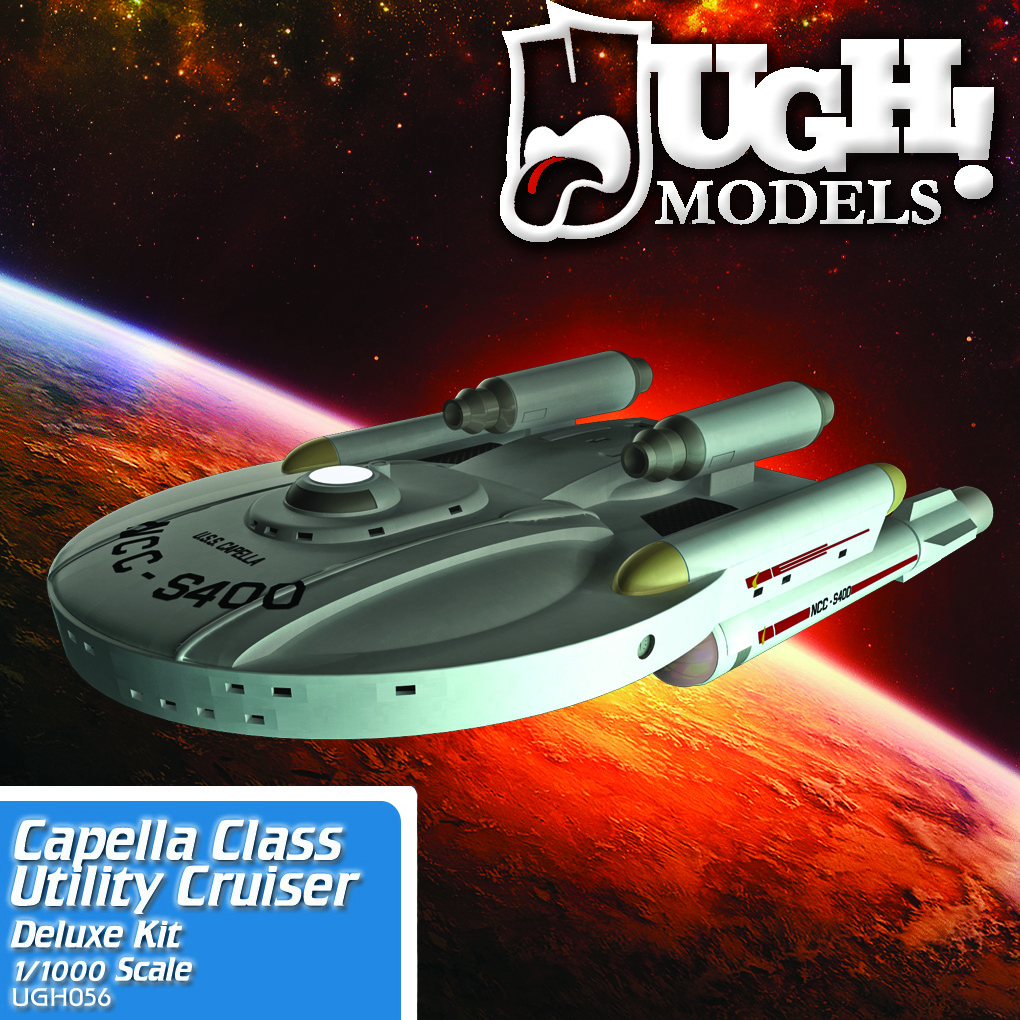 1/1000 Capella Class Utility Cruiser (Deluxe kit)