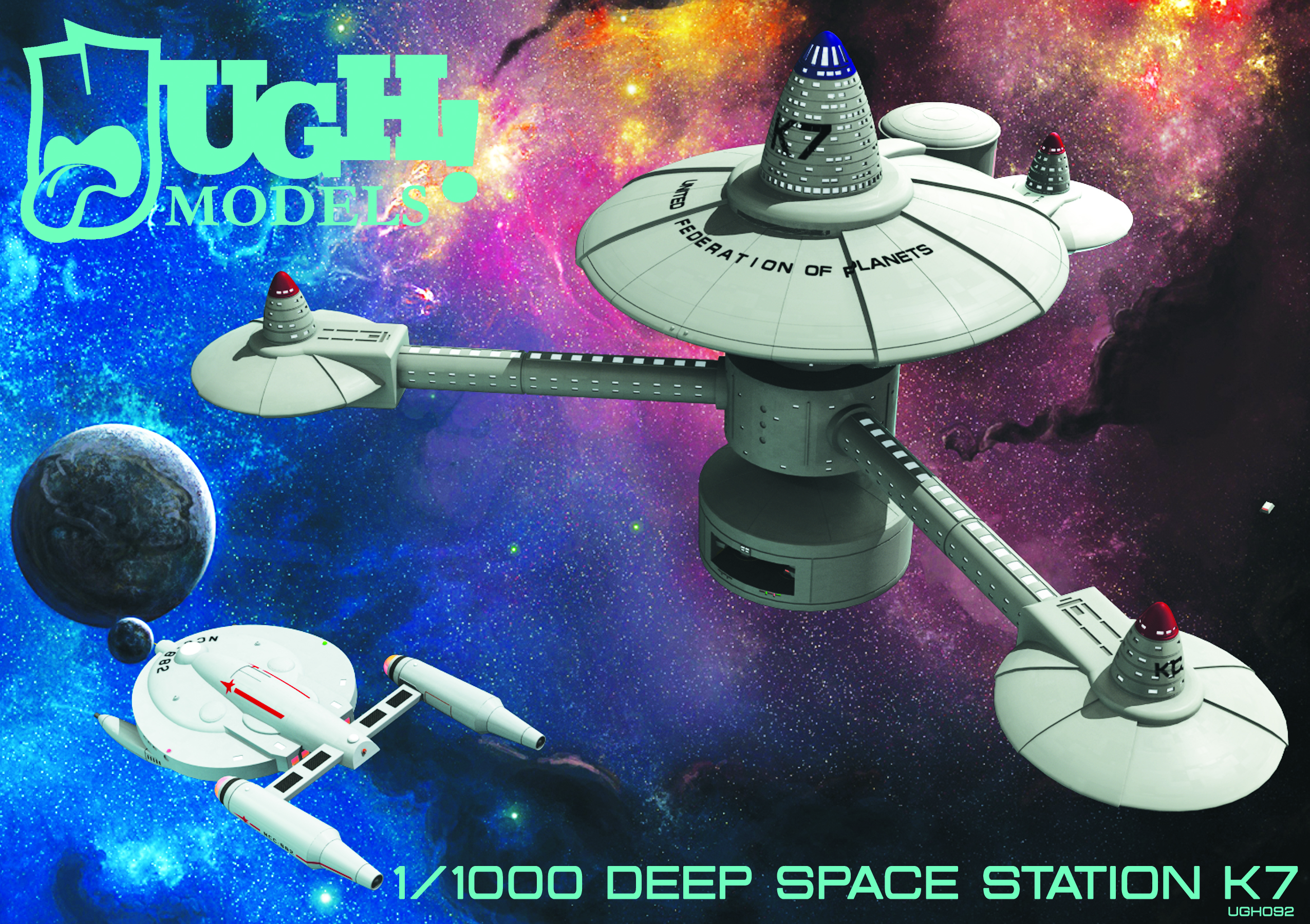 1/1000 Deep Space Station K7
