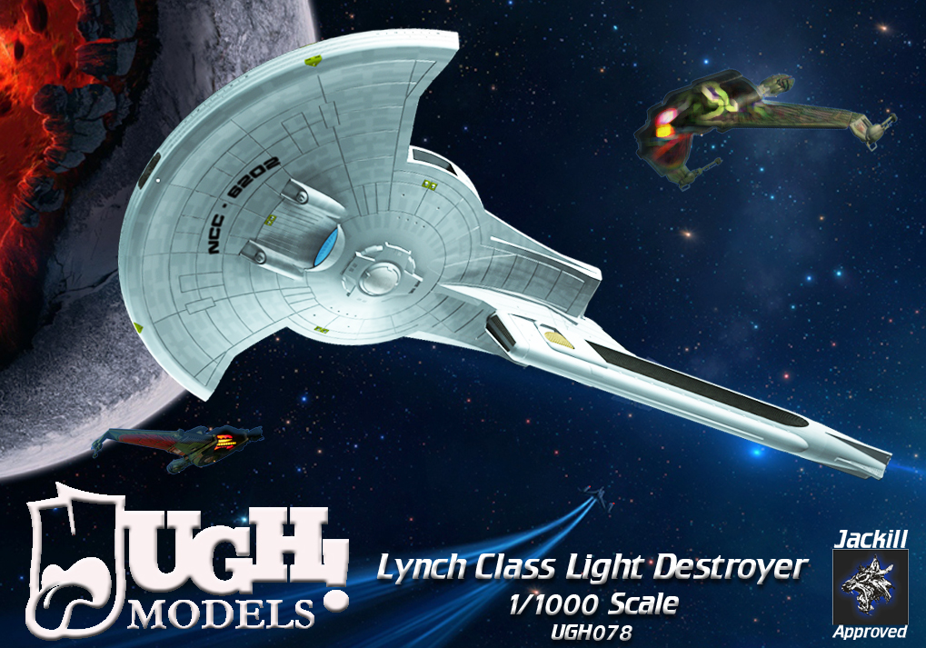 1/1000 Lynch Class Light Cruiser