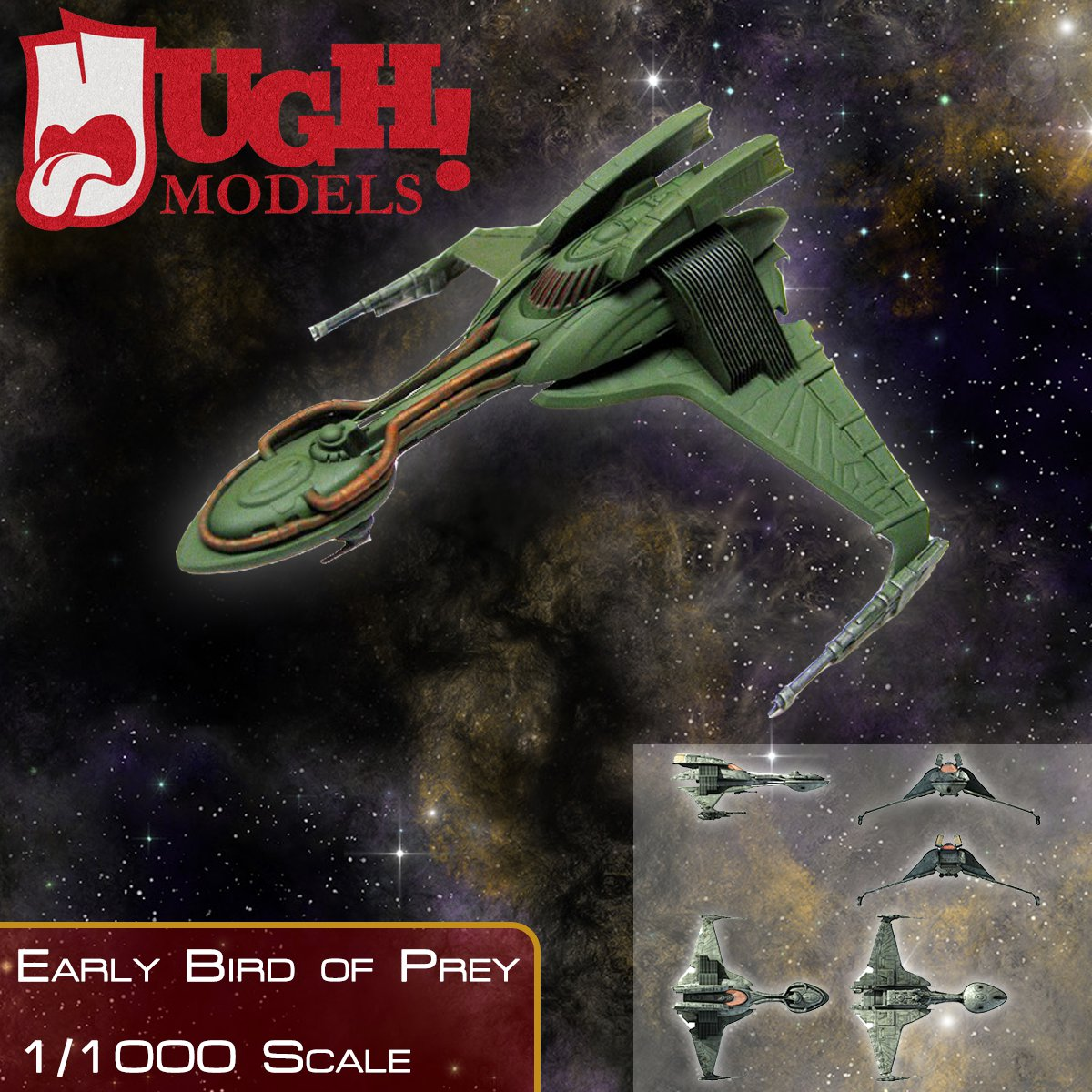 1/1000 Klingon Early Bird of Prey