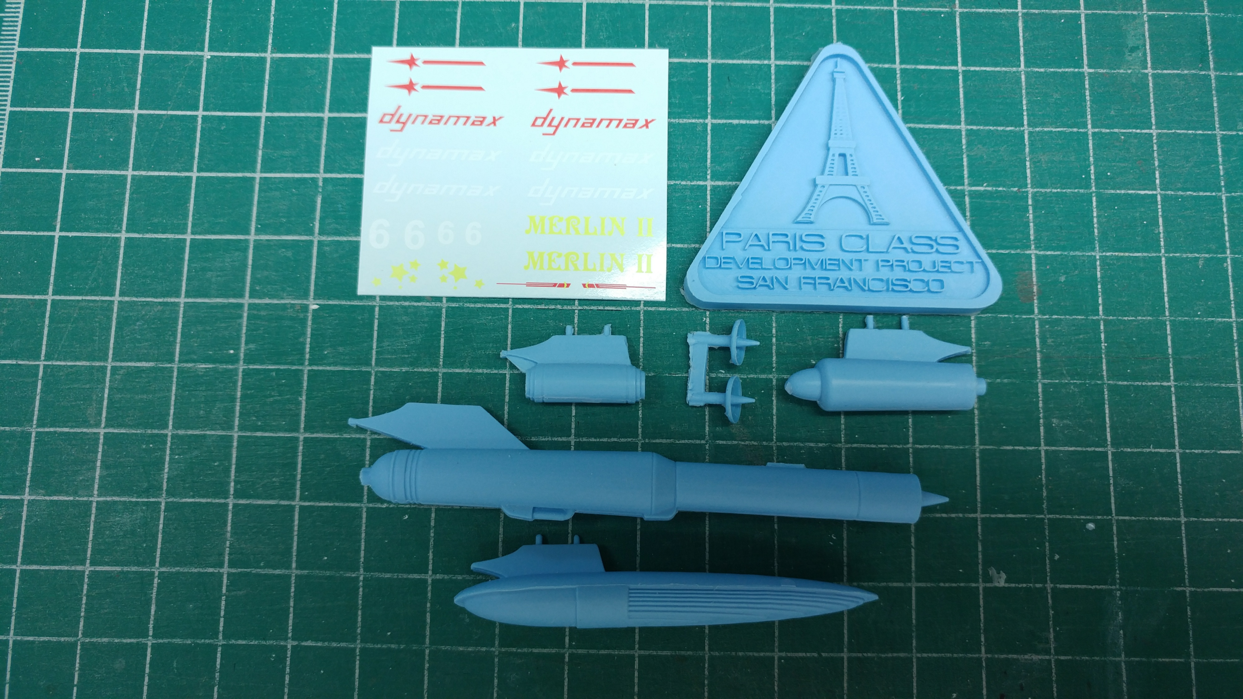 1/1000 Paris Class Add On Pod Pack